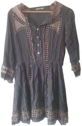 Tularosa Grey Cotton Dress for Women