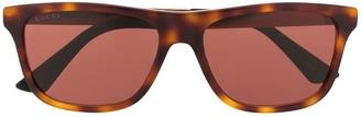 Gucci GG0687S rectangular-frame sunglasses