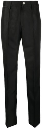 Rotate by Birger Christensen Diamond Pattern Tailored Trousers