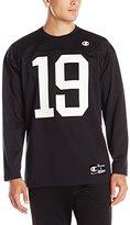 Champion Men's LIFE Long-Sleeve Football Jersey T-Shirt