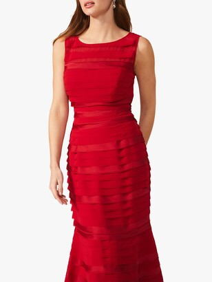 Phase Eight Shannon Dress, Scarlet
