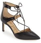 Sam Edelman Women's 'Taylor' Ghillie Pointy Toe Pump