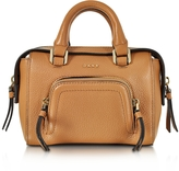 DKNY Chelsea Vintage Style Copper Leather Mini Satchel Bag