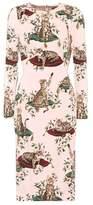 Dolce & Gabbana Printed stretch-silk dress