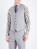 Richard James Twill-patterned wool waistcoat