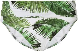 Melissa Odabash Brussels foliage-print bottoms