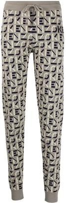 Kenzo Intarsia-Knit Leggings
