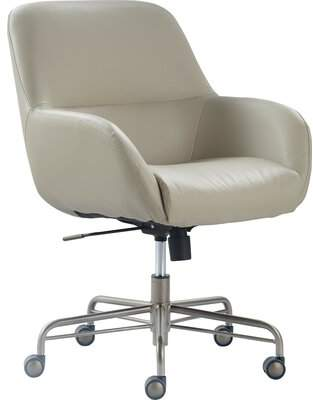Tommy Hilfiger Forester Task Chair Upholstery Color: Cream