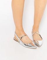 Asos LATIMER Pointed Ballet Flats