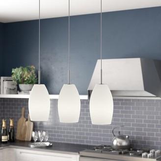 Brayden Studio Anna 3 - Light Kitchen Island Linear Pendant
