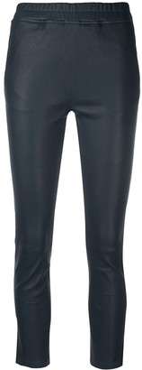 Arma High-Rise Cropped Trousers