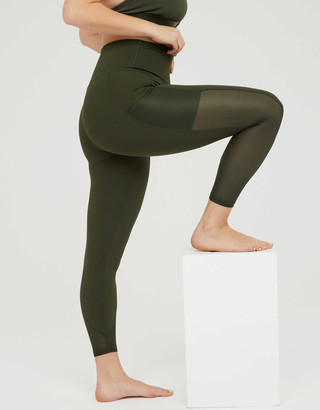 aerie OFFLINE Goals High Waisted Mesh Pocket Legging