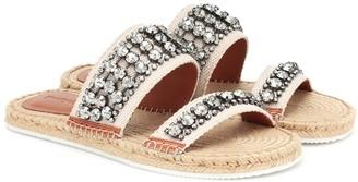See by Chloe Embellished espadrille sandals