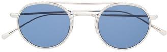 Garrett Leight Lexington 5 round-frame sunglasses