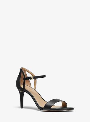 Michael Kors Simone Leather Sandal