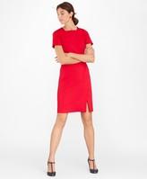 Brooks Brothers Square-Neck Ponte Sheath Dress