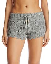 Surf Gypsy Crochet Swim Cover-Up Shorts