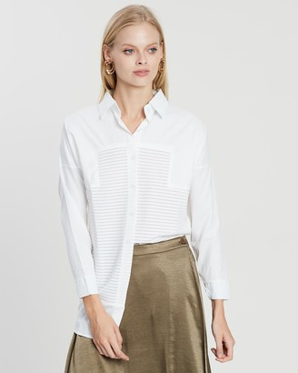 Mossée Ava White Perfect Shirt