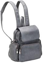 Le Donne Women's LeDonne Multi Pocket Back Pack Purse TR-125