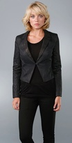Mason By Michelle Mason Slim Lapel Jacket