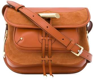 Tod's toggle detail cross body bag