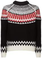 Burberry Chunky Fair Isle Sweater