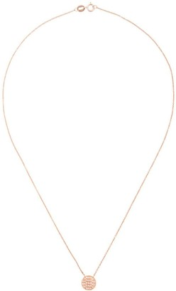 Dana Rebecca Designs 14kt rose gold Lauren Joy medium diamond necklace