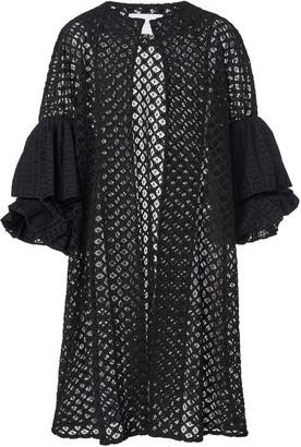 Leal Daccarett Eliseo Crochet-Knit Cotton Jacket