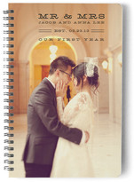 Minted Marital Nostalgia Day Planner, Notebook, or Address Book
