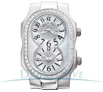 Philip Stein Teslar 1d-f-cmop-vgLadies WatchAnalogue QuartzMother of Pearl Dial Leather Strap