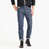 J.Crew Wallace & Barnes slim raw selvedge jean