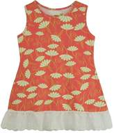 Three Friends Apparel Coral Floral Tank Top
