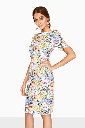 Paper Dolls Outlet Floral Bodycon Dress