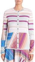 M Missoni Women's Striped Cardigan