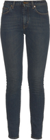 Saint Laurent High-rise skinny cropped jeans