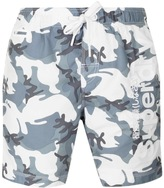Superdry Premium Neo Camo Swim Shorts Grey