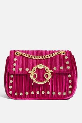 Skinnydip Skinny Dip Womens **Lexi Glitz Cross Body Bag By Pink