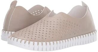 Ilse Jacobsen Tulip 3565 (Sand Pile) Women's Slip on Shoes