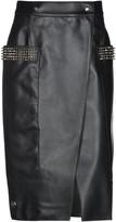 Philipp Plein Knee length skirts - Item 35322223