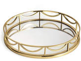 Marks and Spencer Deco Round Mirror Tray