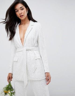 ASOS EDITION embellished blazer