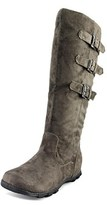 Wanted Sadler Round Toe Canvas Knee High Boot.