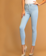 Lt. Blue High-Waist Skinny Jeans - Plus Too