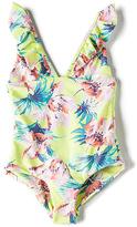 Tori Praver Swimwear Keiki Victoria One Piece in Yellow. - size L (also in M)