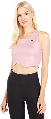 Puma Studio Crop Lace Tank (Foxglove) Women's T Shirt