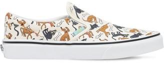 Vans Cotton Canvas Slip-on Sneakers