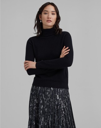 Club Monaco Gennadi Cashmere Turtleneck Sweater