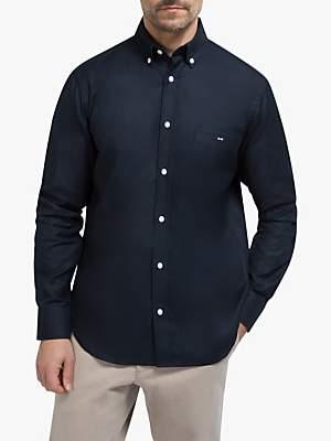 Eden Park Regular Fit Cotton Oxford Shirt, Navy