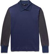 Issey Miyake Men - Colour-block Wool Sweater