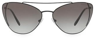 Prada Catwalk 68MM Cat Eye Sunglasses